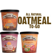 Oatmeal single serve for coffee shops