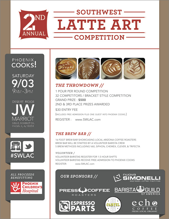 Southwest Latte Art Competition