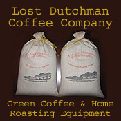 coffee home roasting - green coffee beans