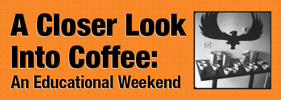 Coffee Education Weekend coming this November from Press Coffee Roasters