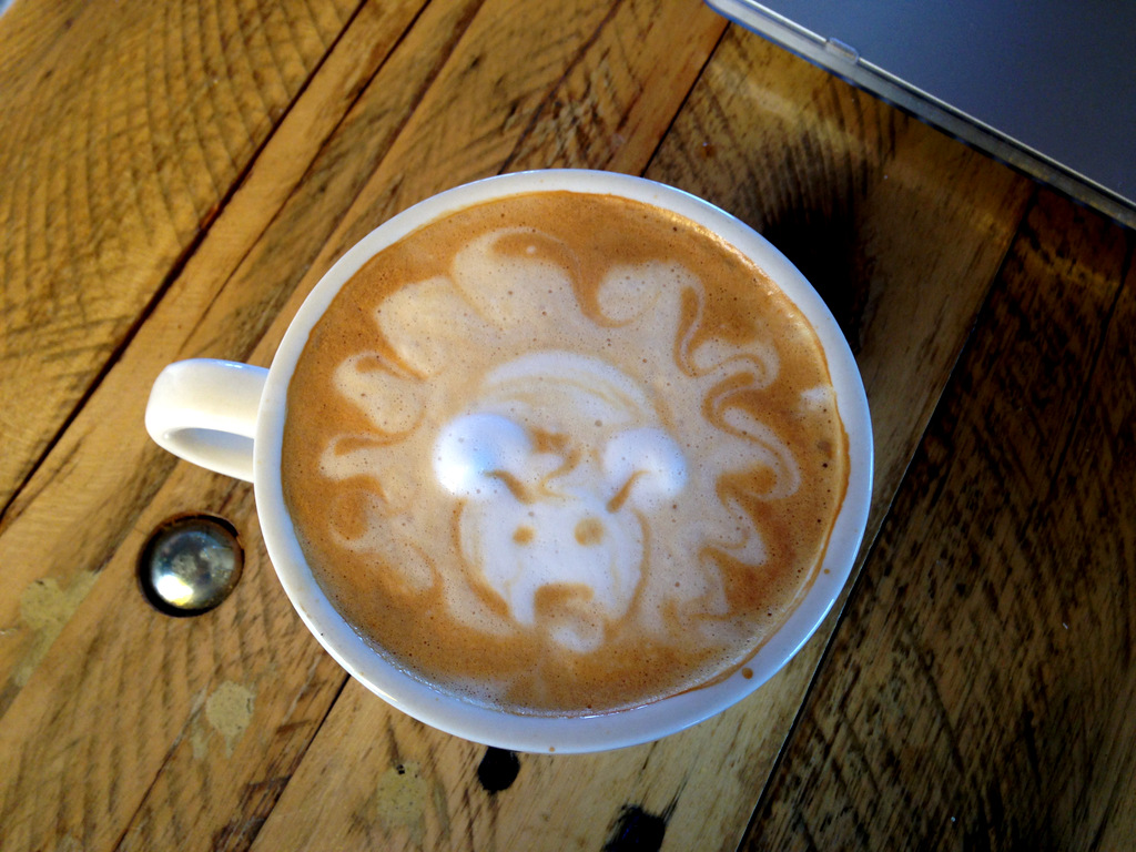 lion-latte-art