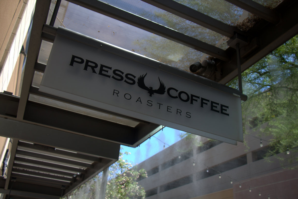 Press Coffee Updates Scottsdale Store - Arizona Coffee