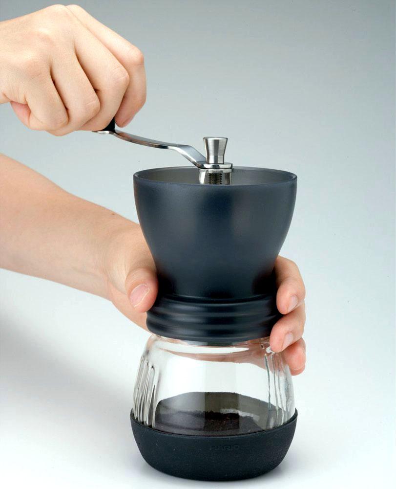 Hario Ceramic Coffee Mill Skerton Storage Capacity (100g)