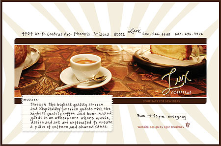 Lux Coffee Phoenix