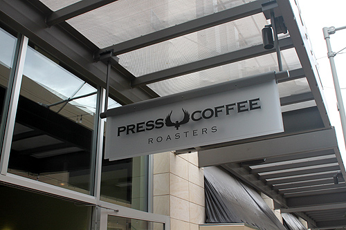 Press Coffee Scottsdale Quarter