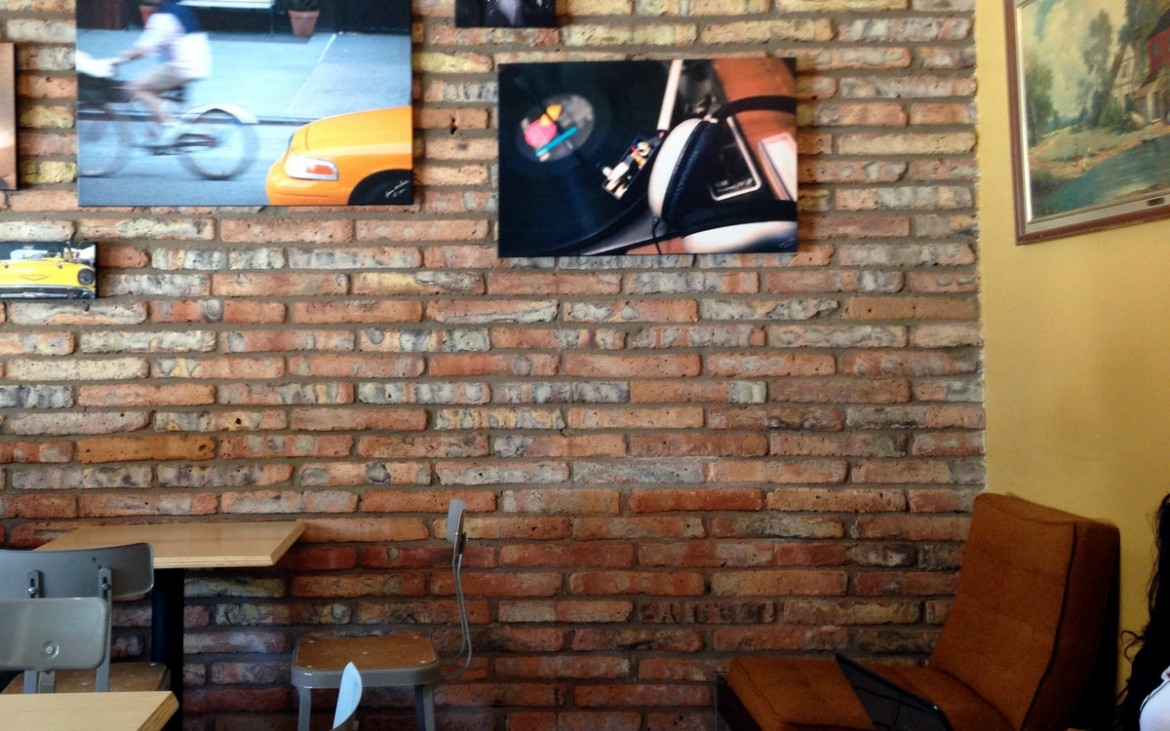 artwork at king coffee